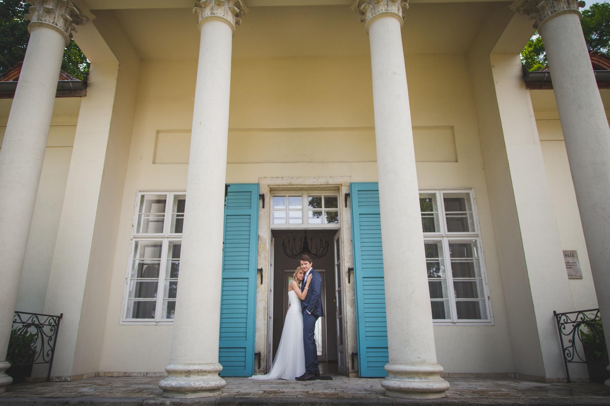 Esküvői fotózás Barabás Villában